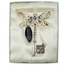 18th Birthday Lilac Butterfly Key